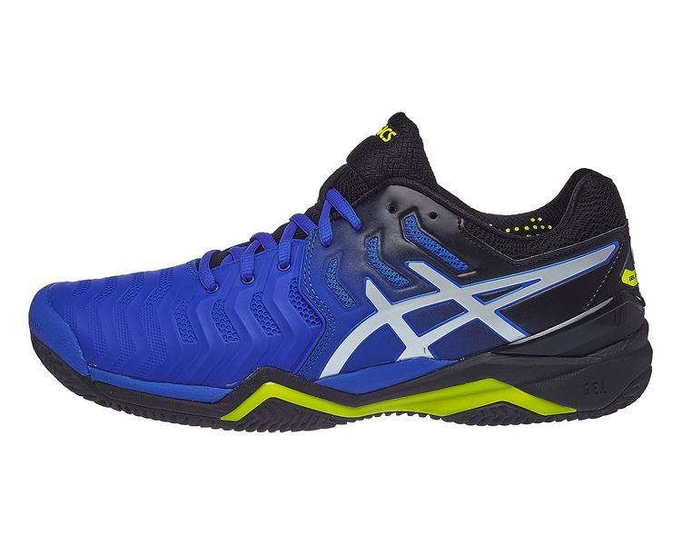 BUTY TENISOWE ASICS GEL RESOLUTION 7 CLAY ILLUSION BLUE MEN
