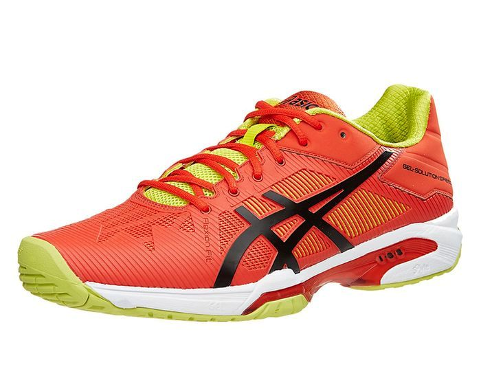 BUTY TENISOWE ASICS GEL SOLUTION SPEED 3 ORANGE MEN