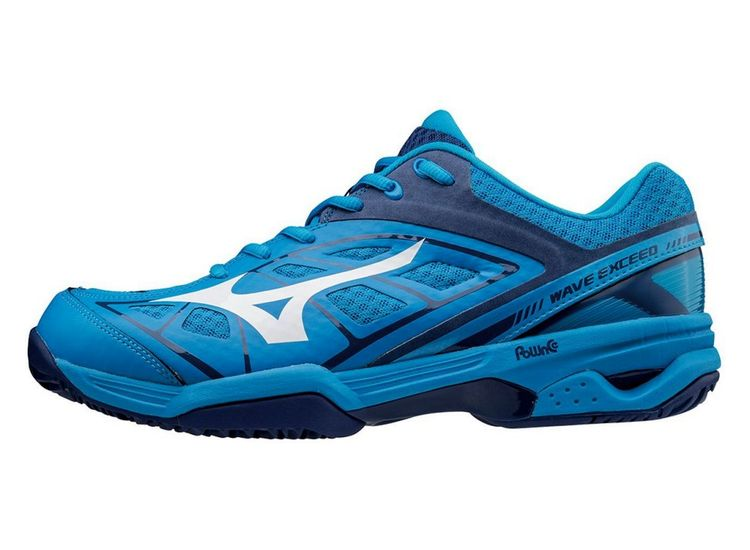 BUTY TENISOWE MIZUNO WAVE EXCEED CC BLUE MEN 3614c69c2d